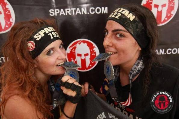 spartan race runner